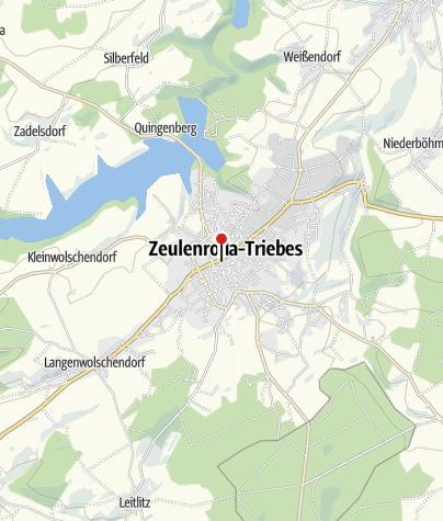 Karte / Sparkasse Gera-Greiz - Beratungscenter Zeulenroda