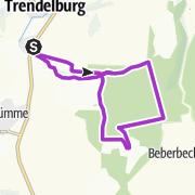 Karte / Gedenksteinrunde Reinhardswald (14 K)