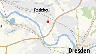 Karte / Caravaning-Park Dresden