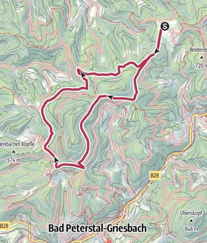Map / Tour4 - Rund um den Braunberg