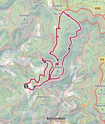 Karte / Tour5 - Zuflucht Höhentour