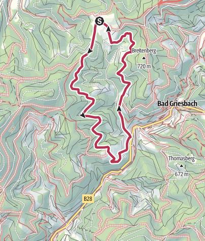 Map / Tour6 - Griesbacher Breitenbergtour