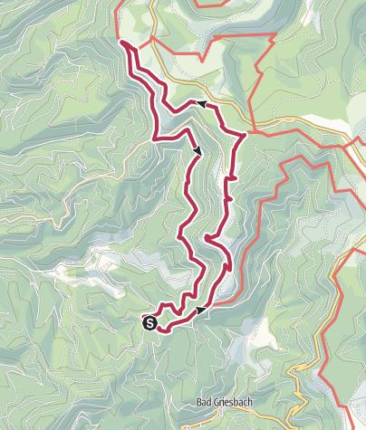 Map / Tour7 - Zuflucht - Lotharpfad