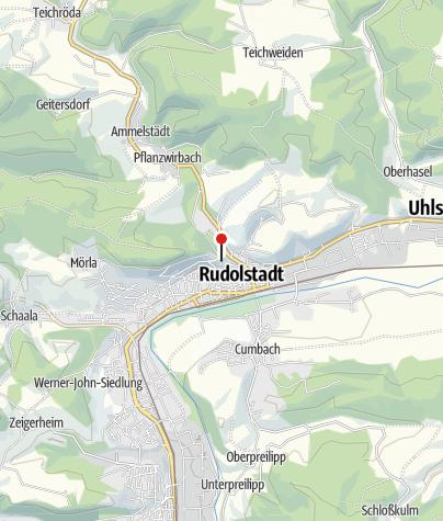 Map / Residenzschloss Heidecksburg
