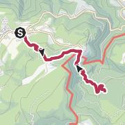 Map / Von Petersberg zur Leger Alm