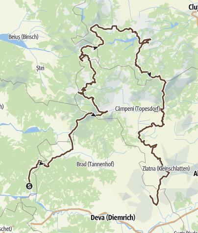 Map / Velorusali 2021 Gesamttour