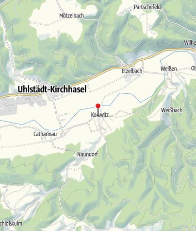 Karte / Thüringer Landhotel Edelhof