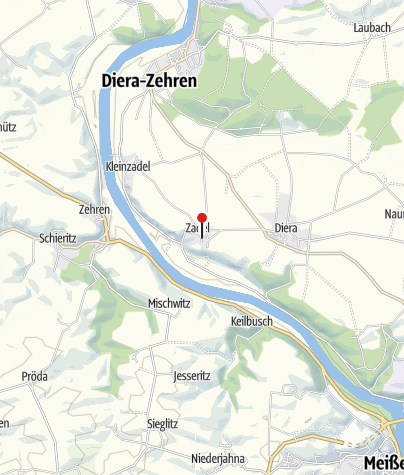 Karte / Gästehaus im Weingut Schloss Proschwitz
