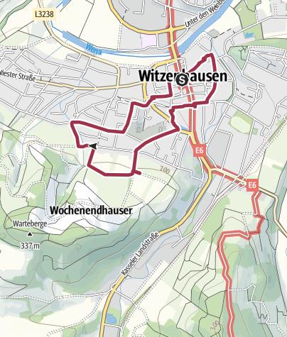 Karte / Kirschenerlebnispfad Witzenhausen