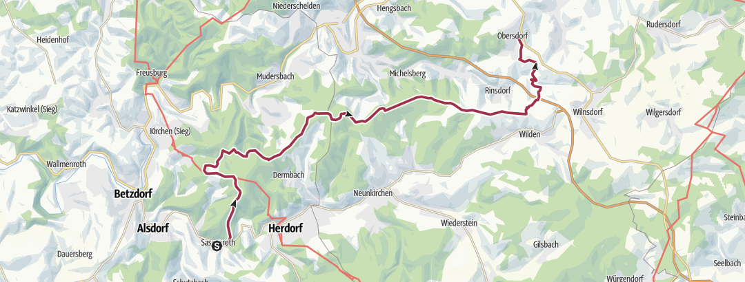 Map / Haupt-Expedition (Tag 2)