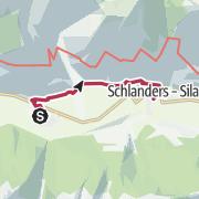 Map / Von Laas über Allitz nach Schlanders