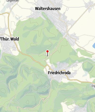 Map / Reinhardsbrunn - Informationszentrum für Spirituellen Tourismus