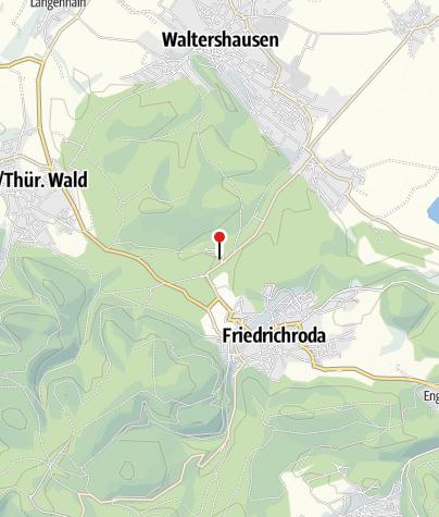 Karte / Reinhardsbrunn - Informationszentrum für Spirituellen Tourismus