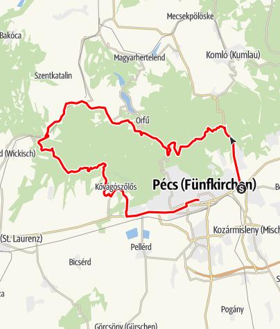 Map / primary:storage/emulated/0/Download/pécs-abaliget-kerékpártúra