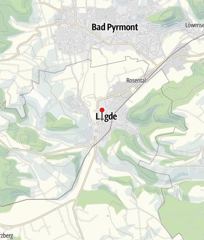 Karte / Stadtmodell Lügde