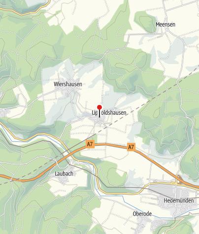 Karte / Gasthaus Zum Krug