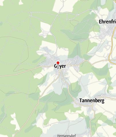 Karte / Bastel- und Wohlfühlladen Köhler in Geyer