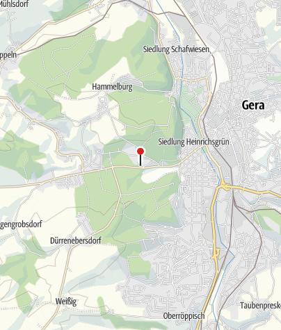 Map / Sparkasse Gera-Greiz - Geldautomat Klinikum