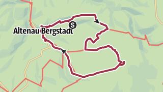 Karte / Wanderung am 9. September 2021