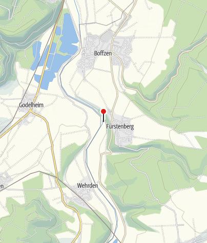 Karte / Dampferanleger Fürstenberg
