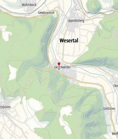Karte / Minigolf Gieselwerder