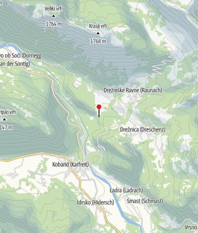 Map / Slap Kozjak (Kozjak Wasserfall)
