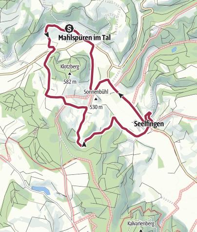 Karte / Quer durchs Tal