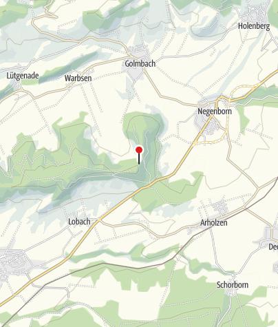 Karte / Großer und kleiner Everstein mit Burgruine