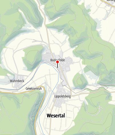 Karte / Dampferanleger Bodenfelde