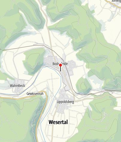 Karte / Parkplatz Zur Schlagd, Bodenfelde