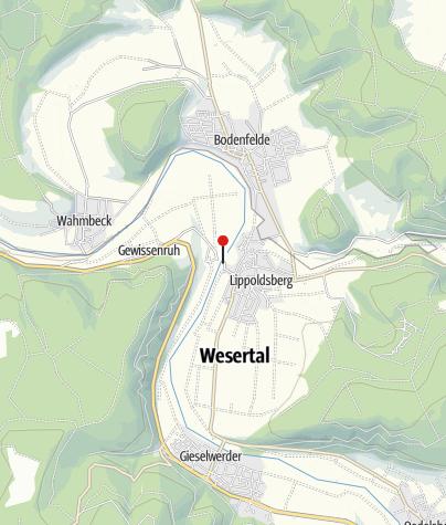 Karte / Kanuanleger Lippoldsberg