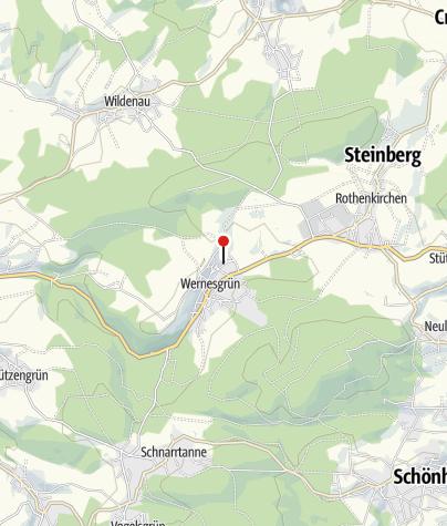 Mapa / Freibad Wernesgrün