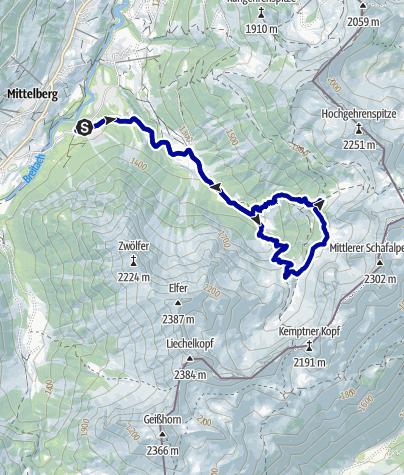 Kaart / Wildental Trail-Runde
