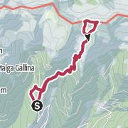 Map / Putzenhöhe (2.438 m) - Aussichtskanzel in den Pfunderer Bergen