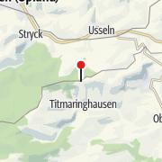 Karte / Graf Stolberg-Hütte