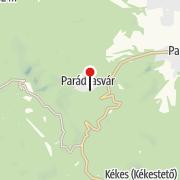 Térkép / Parádsasvári üvegmanufaktúra