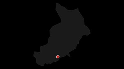 Karte / Hegyestű Geologischer Schauplatz