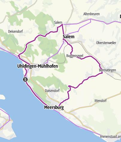 Karte / Linzgau-Tour