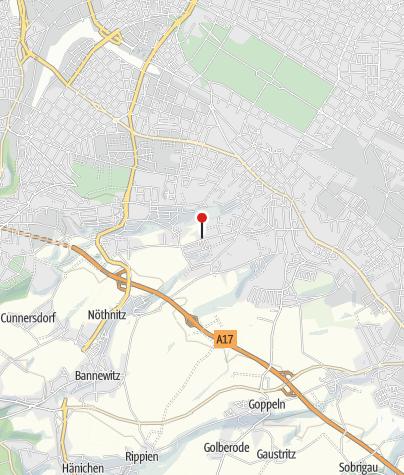Karte / Campingplatz Dresden Mockritz