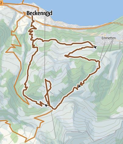 Map / Klewenalp
