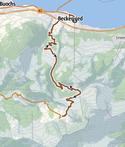 Map / Brisenhaus
