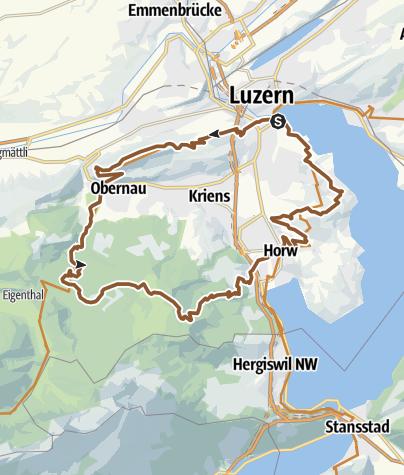 Map / Krienseregg-Buholzerschwändi