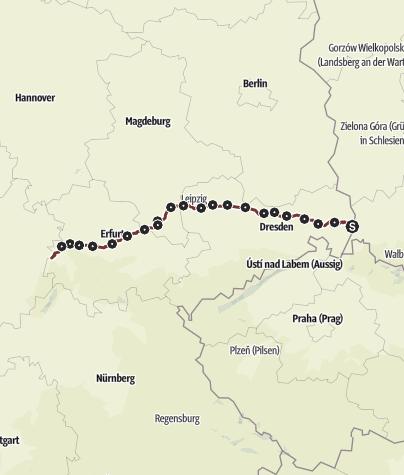 Karte / Ökum. Pilgerweg