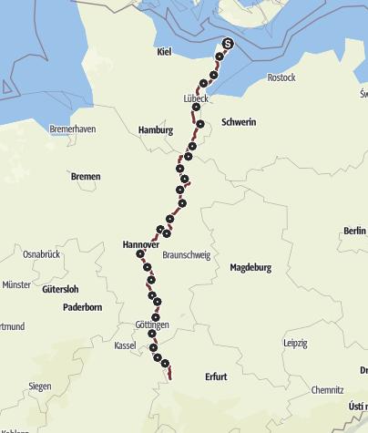 Karte / Via Scandinavica
