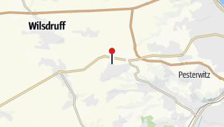 Karte / Caravanstellplatz Fritz Berger Camping & Freizeit Kesselsdorf