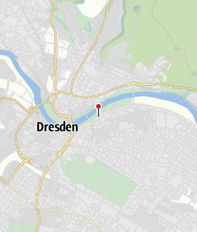 Karte / Caravanstellplatz am Sachsenplatz Dresden