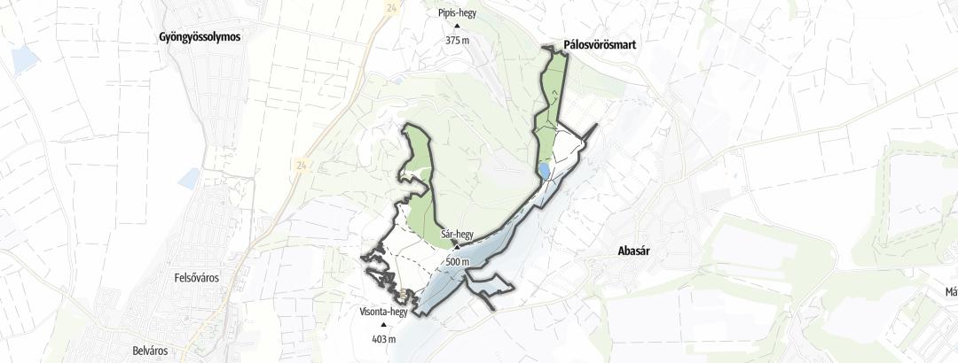 Map / Gyöngyösi Sár-hegy természetvédelmi terület