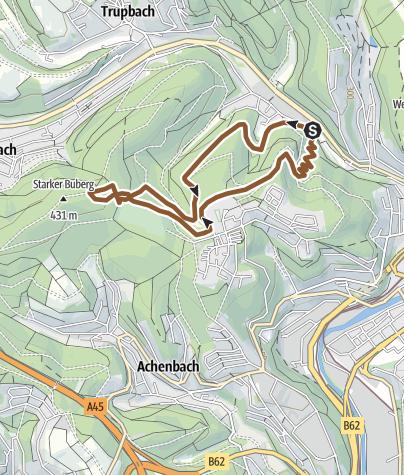 Map / Mountainbike Trail Siegen