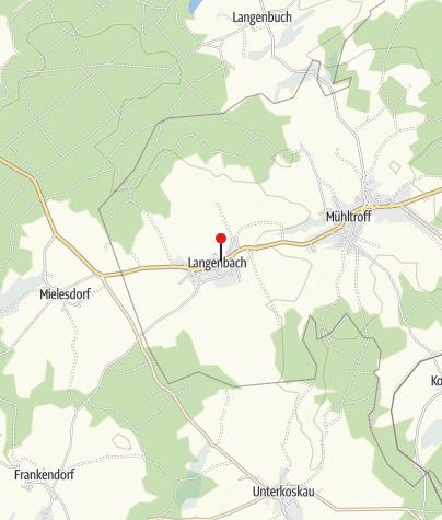 """Map / Gasthof & Pension """"Zum Schwan"""""""