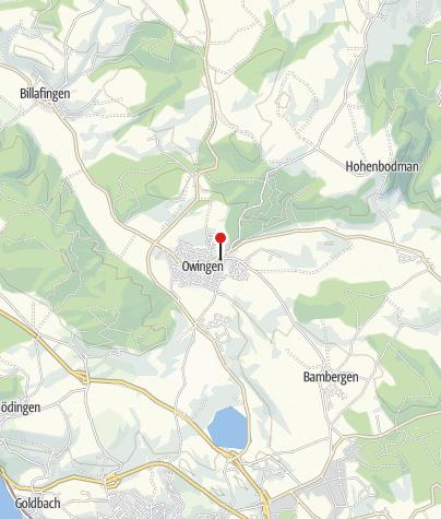 Karte / Pfarrkirche St. Peter und Paul / Owingen
